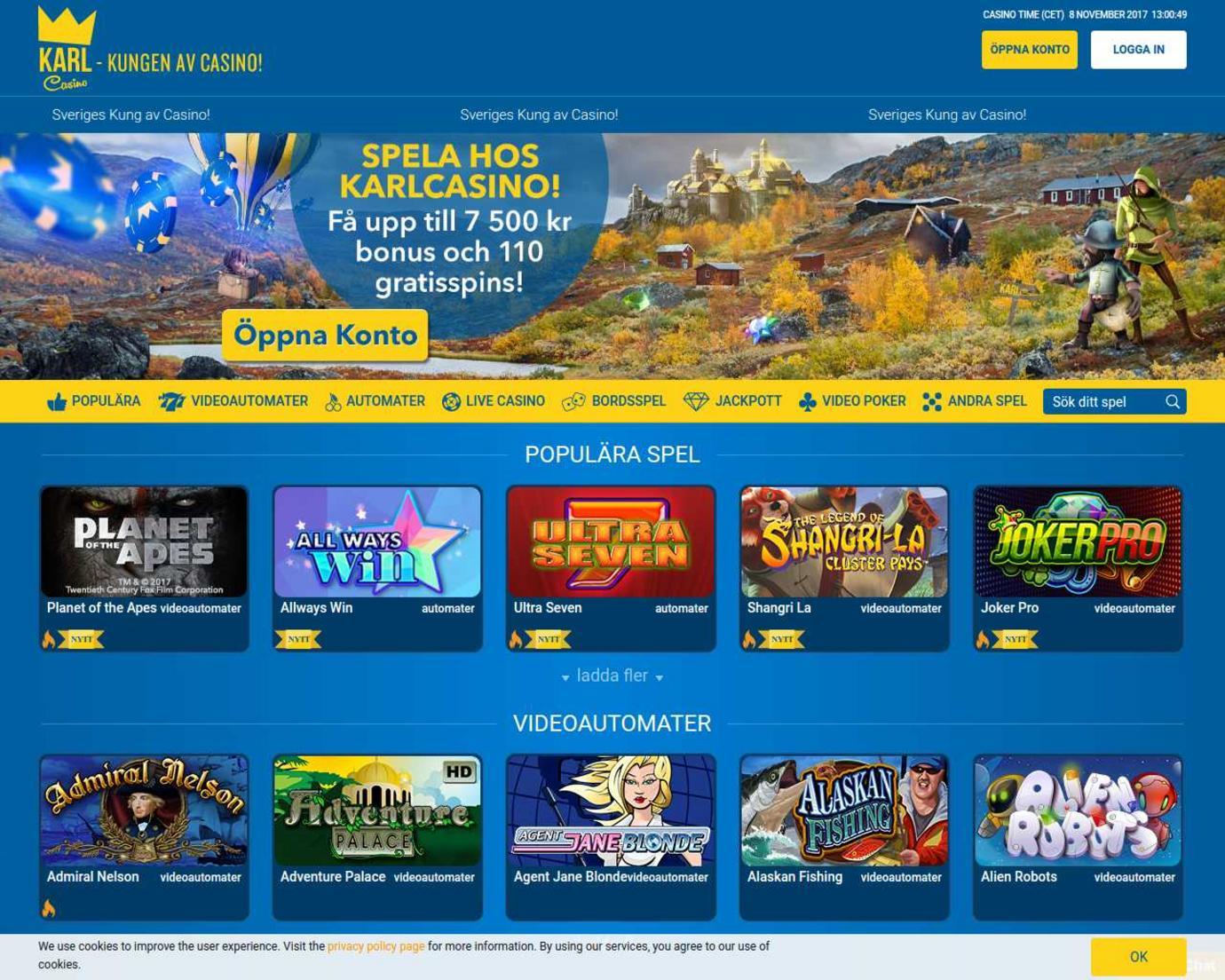Svenska online casinos 319321