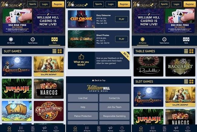 Casino på mobilen med 234206