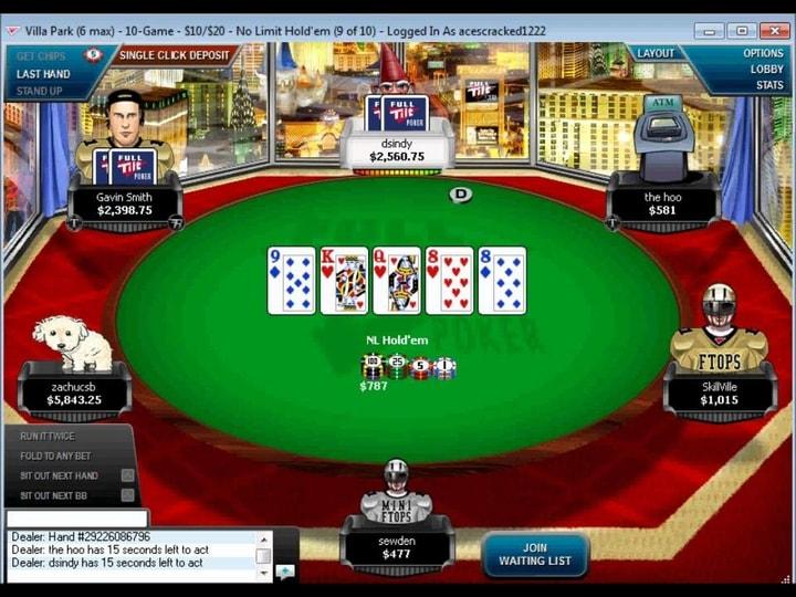 Full tilt poker Redbet 489820