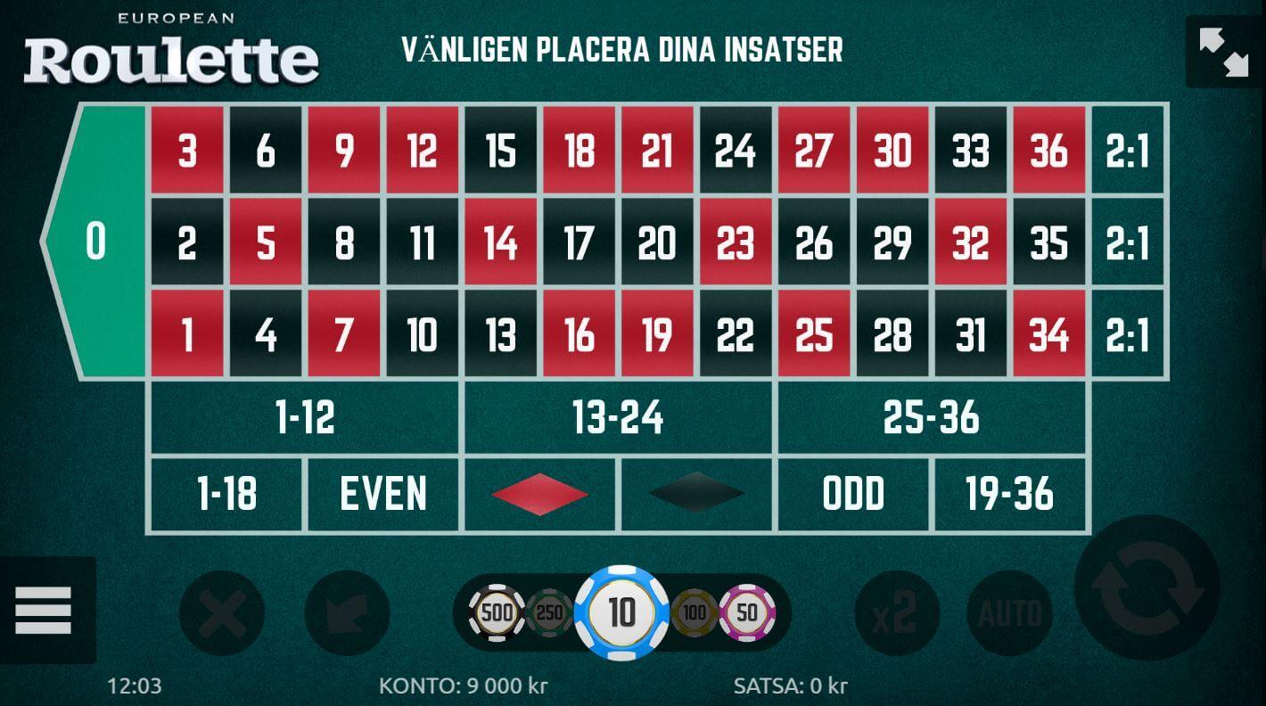 Bästa roulette 464557