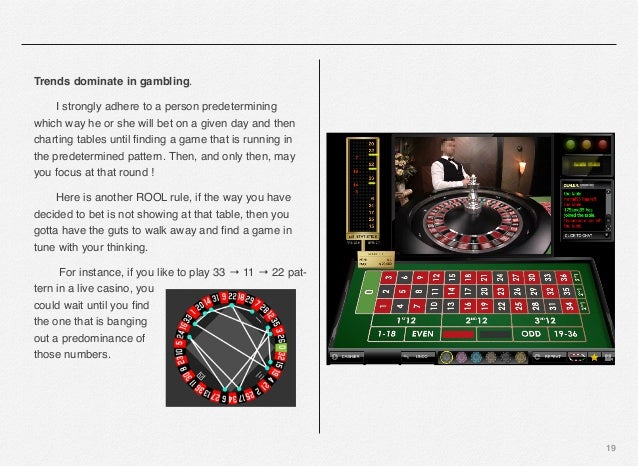 Roulette Rules Guts 195955