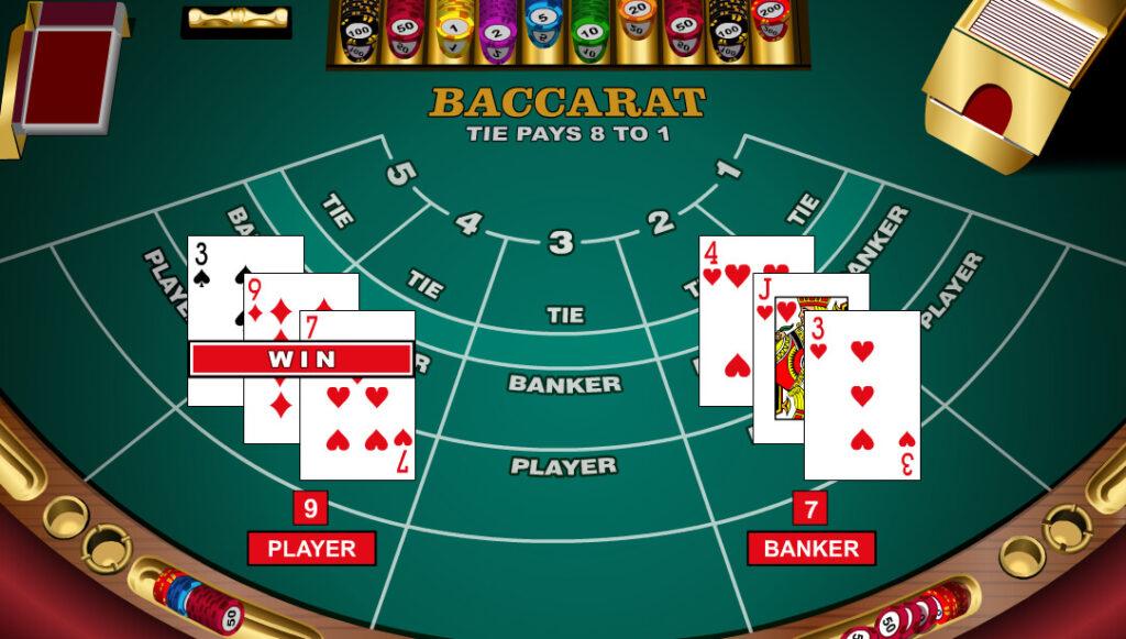 Extra att vinna Baccarat 425493