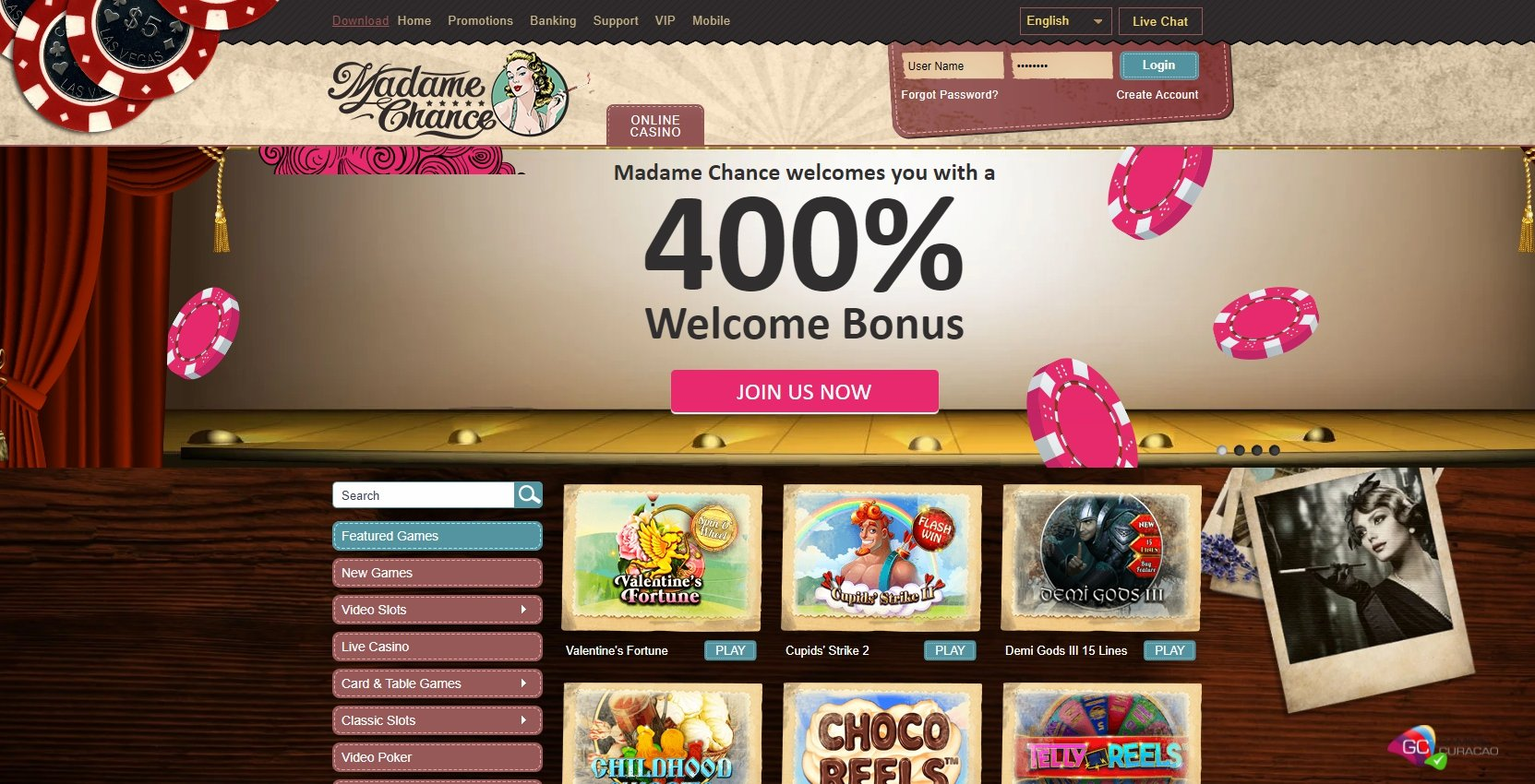 Prova slots gratis PAF 451508