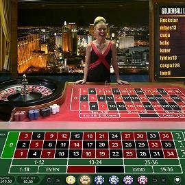 Live roulette kampanj Black 390916