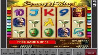 Ming Dynasty slot 538282
