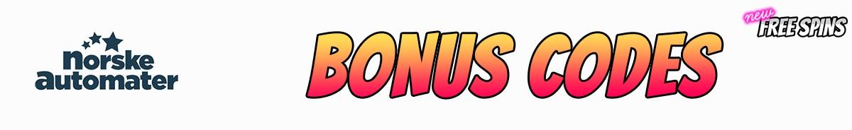Norskeautomater bonus code 308750