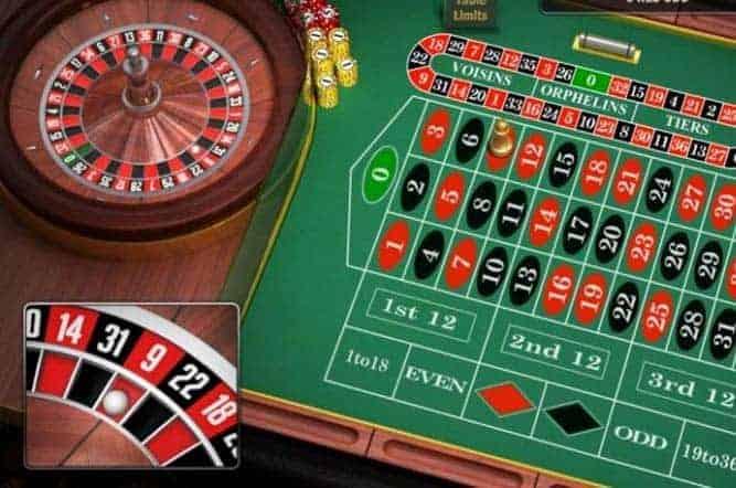 Roulette grön nya 397939