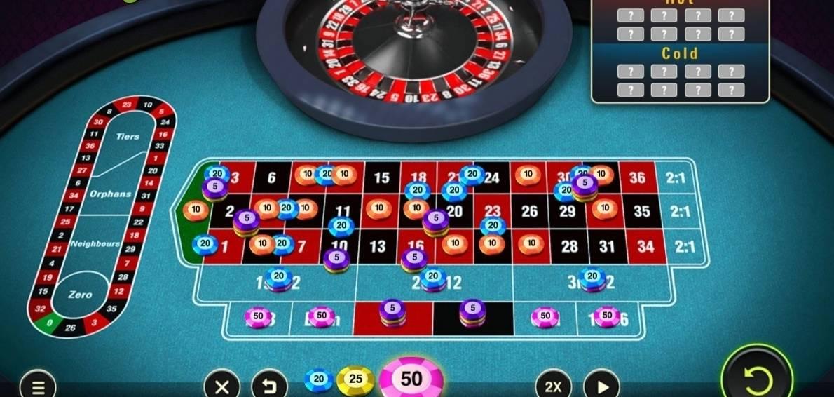 Roulette system svart rött 507303